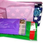Coloured despatch bags